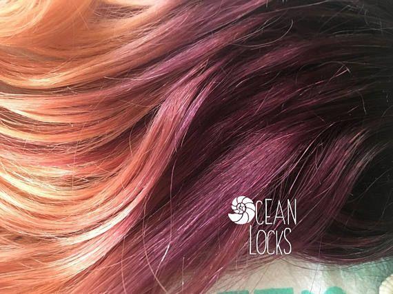 Plum Hair, Ombre Hair ...