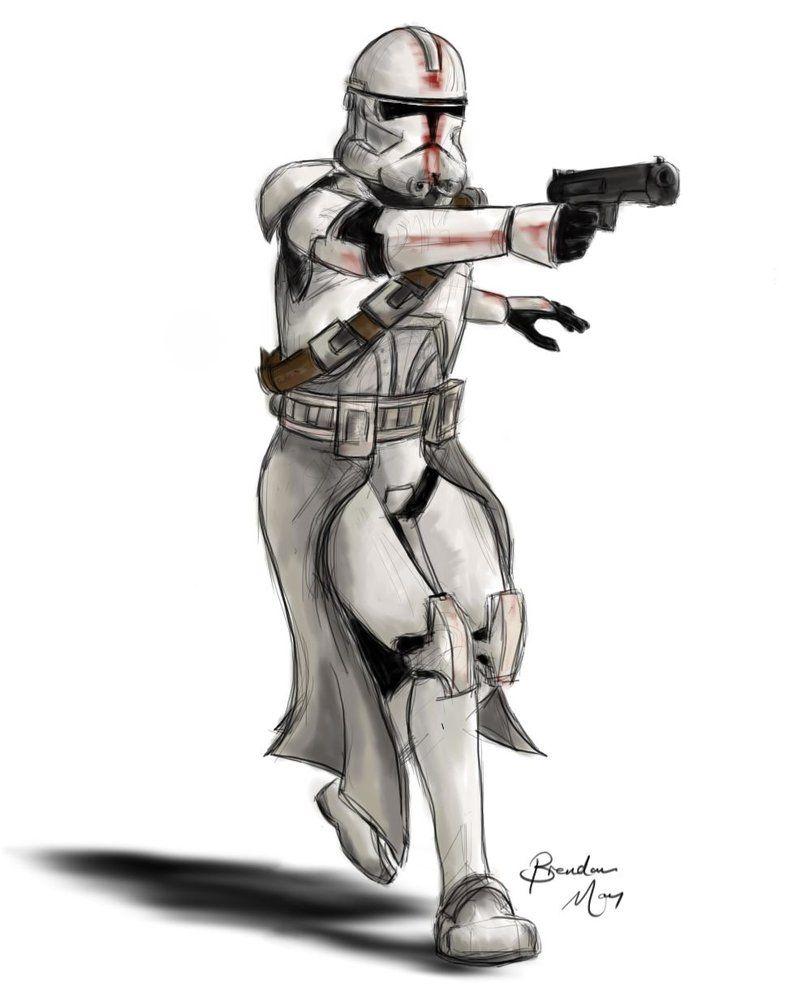 The Trooper Evolution By Makenoiseman Star Wars The Trooper