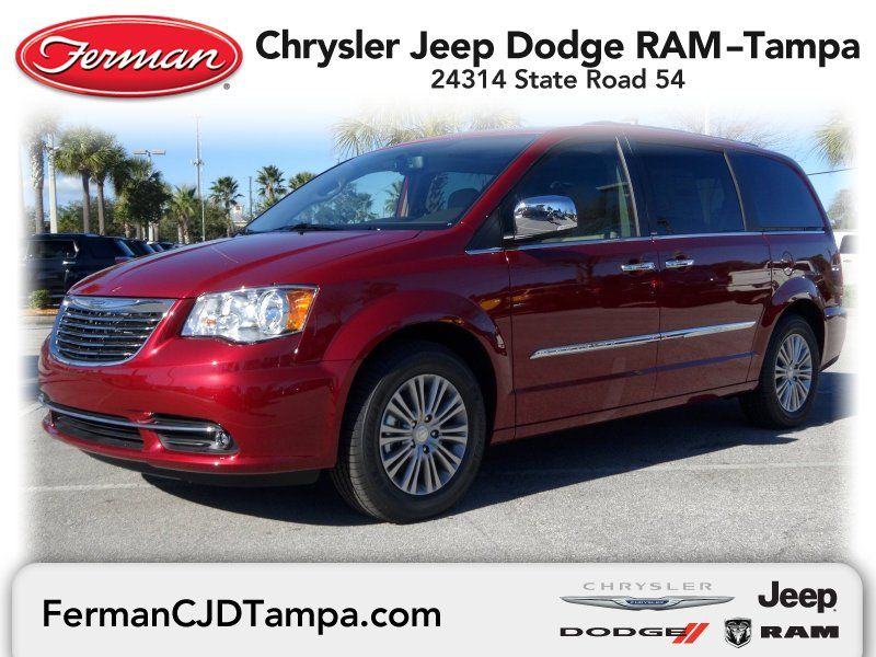 2014 Chrysler Town Country Touring Deep Cherry Red Crystal