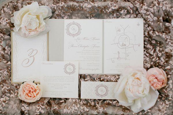 Romantic Glam Wedding Inspiration