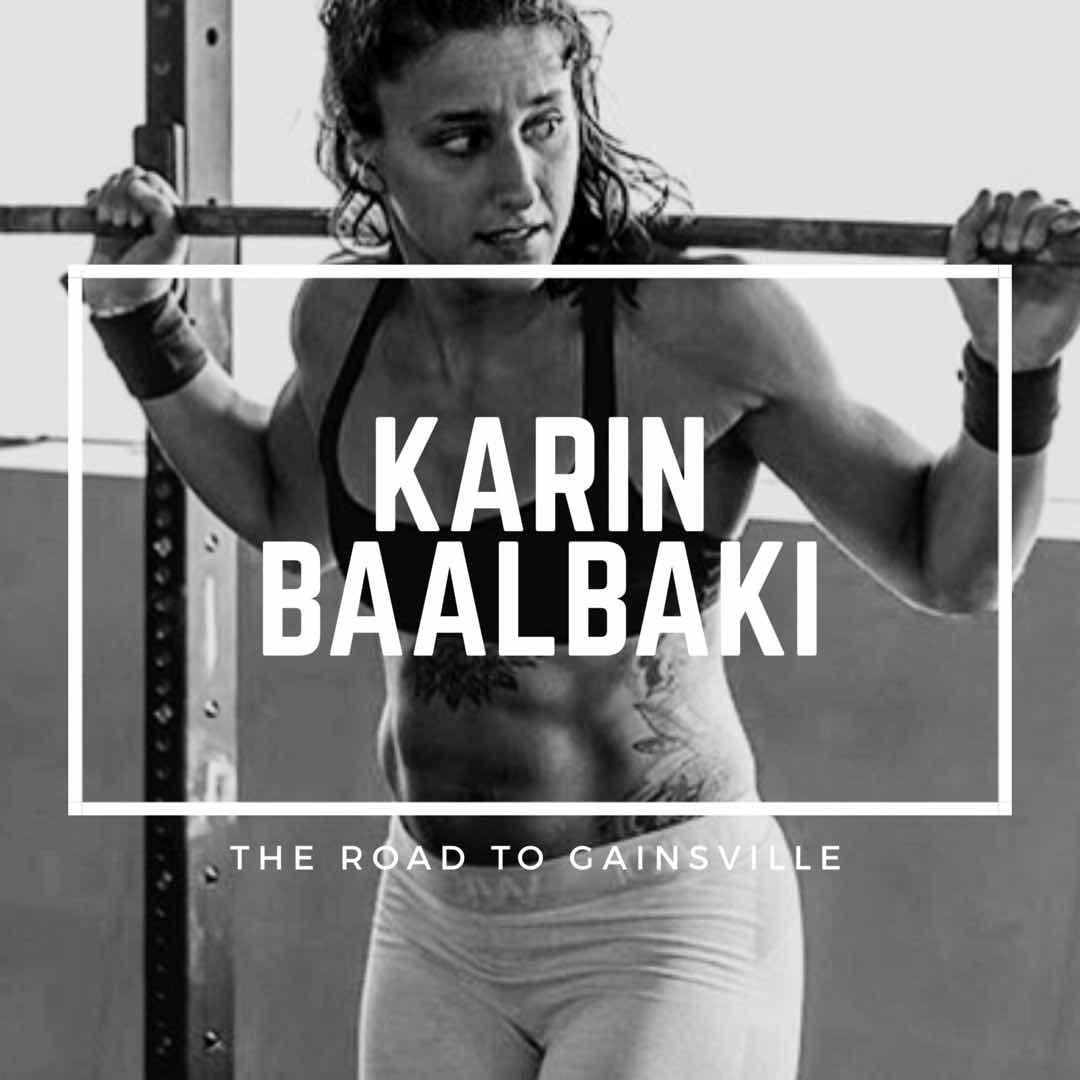 12 questions with crossfit coachathlete karin baalbaki