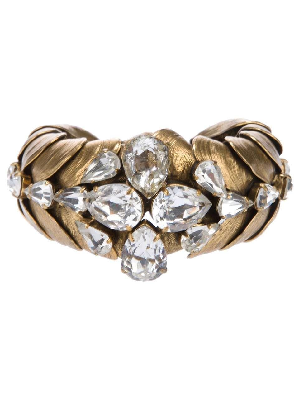 Yves saint laurent vintage mussel bracelet my style