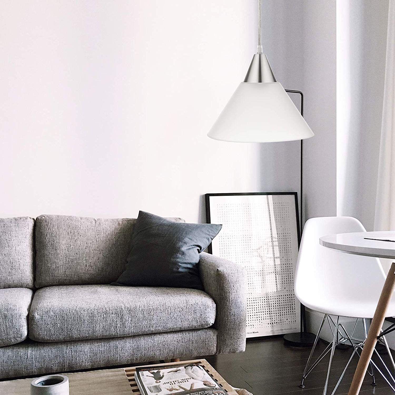 Dewenwils Plug In Pendant Light Interior Hanging Ceiling Light