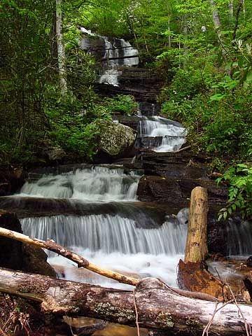 Indian Creek And Toms Branch Falls