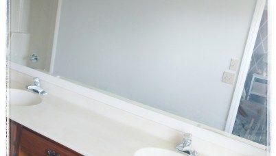 DIY CONCRETE OVERLAY VANITY COUNTER TOP - Decorate & More ...