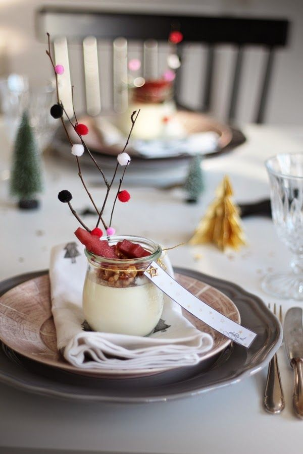 Panna Cotta X Mas Decoration Diy Dessert Lilli Lotta Ideas