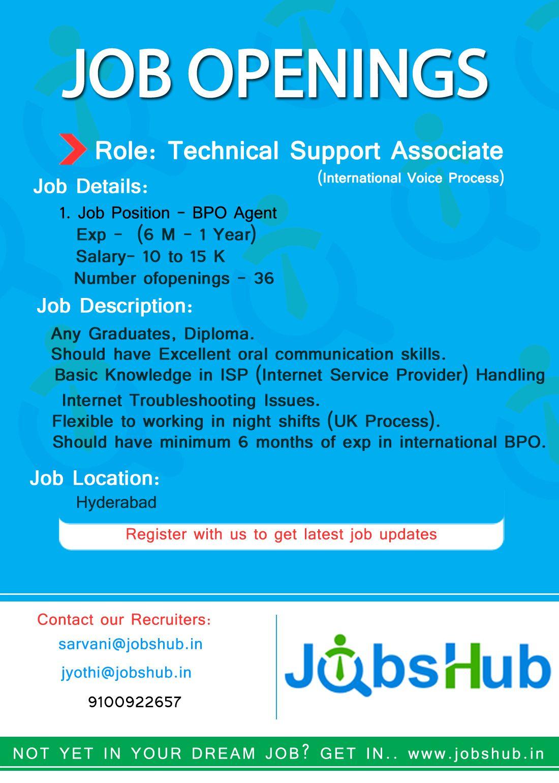 Hiring For Technical Support Associate International Voice Process