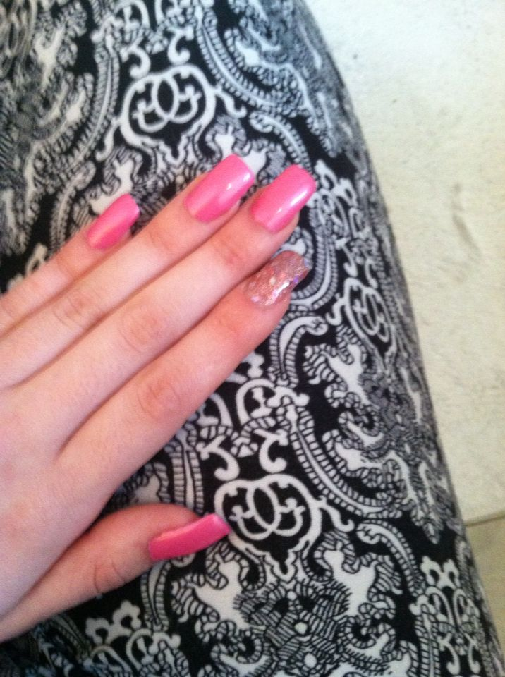 Simple pink nails for a job interview | Nails!! <3 | Pinterest ...