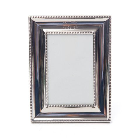 Monogrammed Ornate Silver Picture Frame   Apartment Life   Pinterest ...