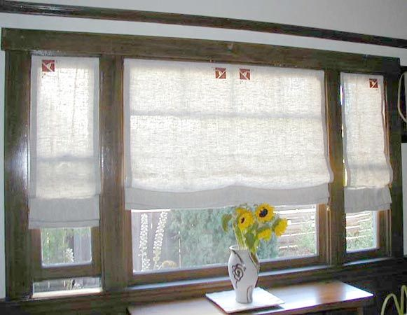 I've decided I want window treatments of some kind on the downstairs window. Gathering ideas... Ann Wallace 6
