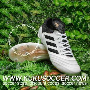 e2368f8836c6 adidas Copa 18.1 FG - White Core Black Tactile Gold Metallic ...