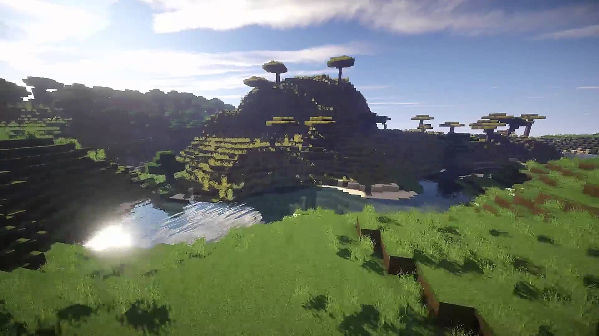 00006ab57 MINECRAFT LANDSCAPE | EPIC SHADERS - YouTube | Helena's Board super ...
