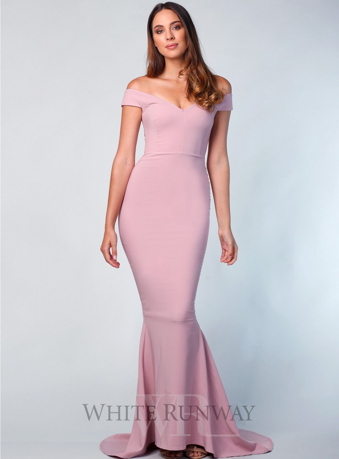Allure Gown. A stunning full gown gown by Nookie. An off shoulder ...
