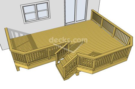 We Love Deck Designs Check This One Out From Decks Com Our