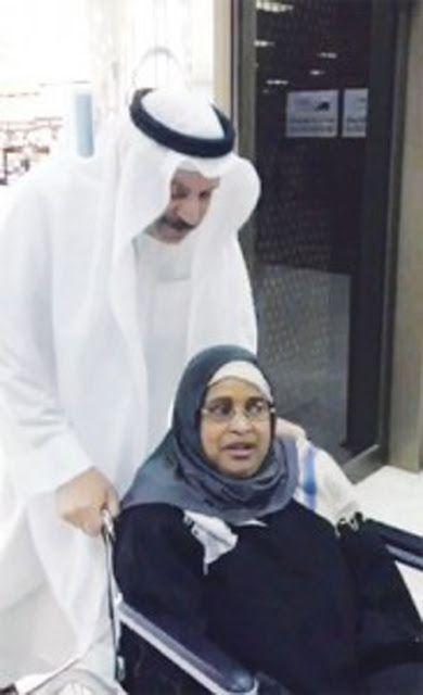 "The UAE Man  مدونة رجل الإمارات : سعودي يرعى خادمة قعيدة 19 عاماً ويصفها بـ ""جالبة ا..."