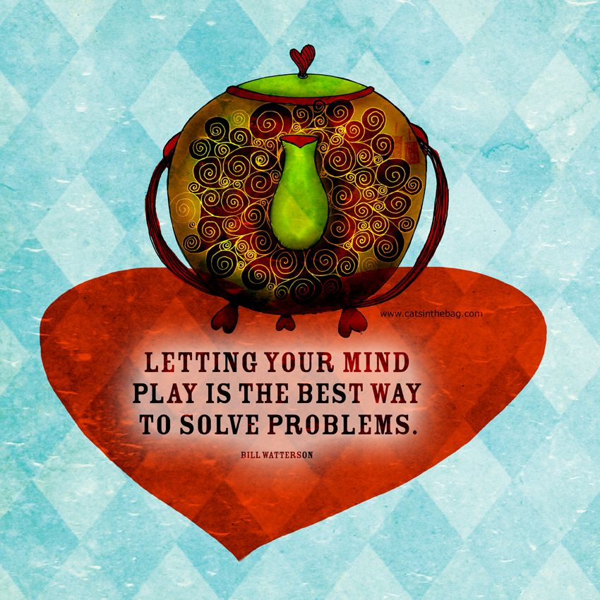 """#mindplay #creativiTEA """"Letting your mind play is the best way to solve problems"""" - Bill ..."""