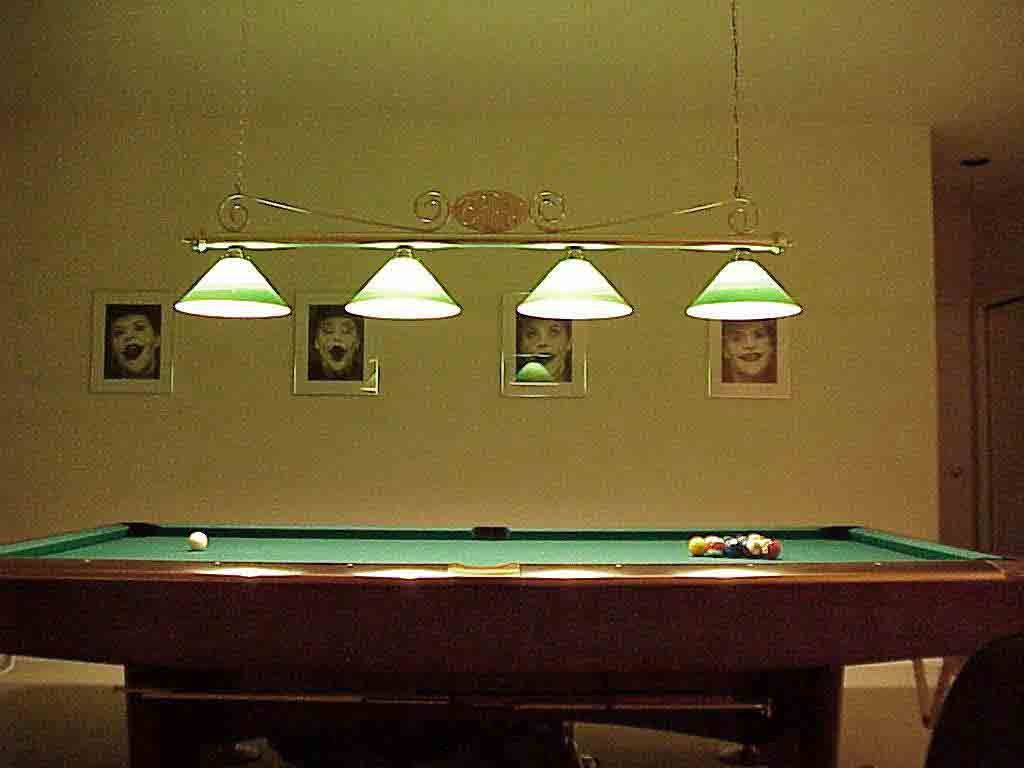 Pool Table Light Fixtures With Images