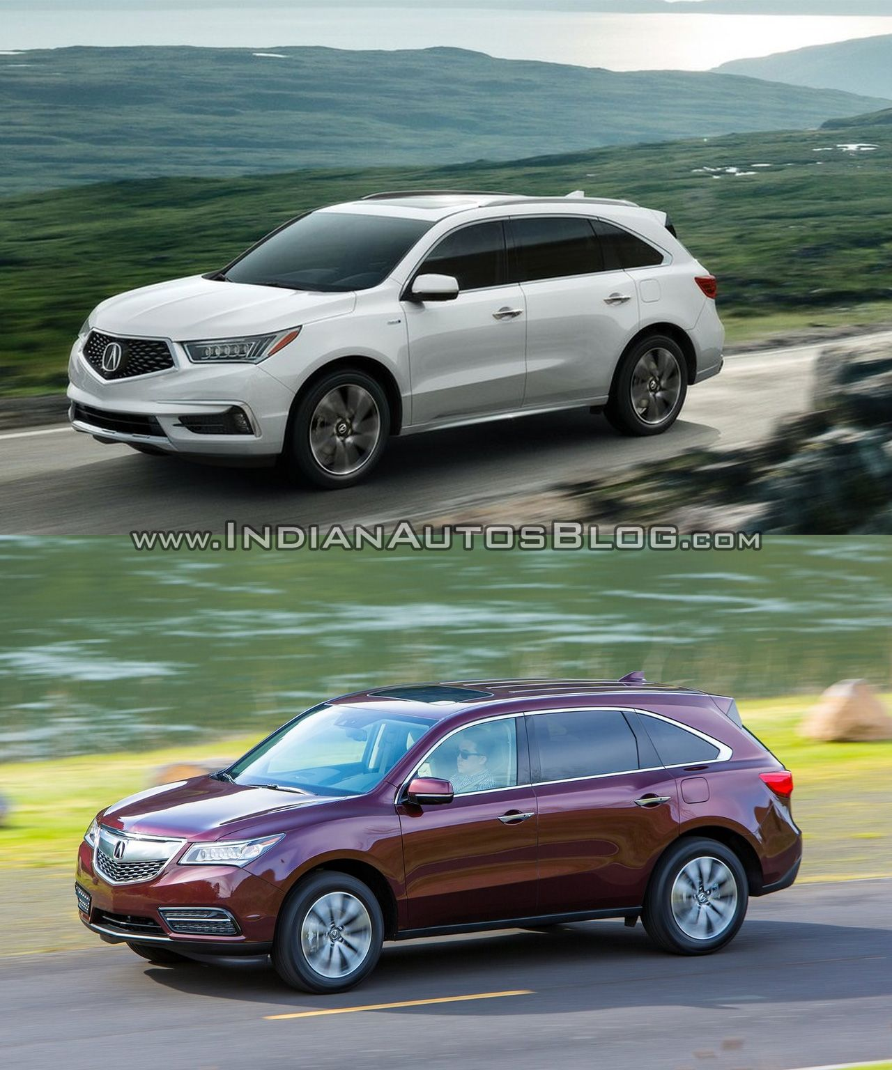 2017 Acura MDX Vs. Old Acura MDX - Old Vs. New