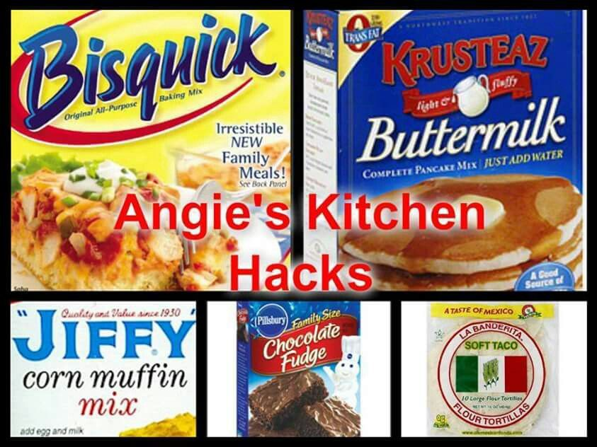 Mix for pancakes, bisquits, muffins, brownies, cake, etc