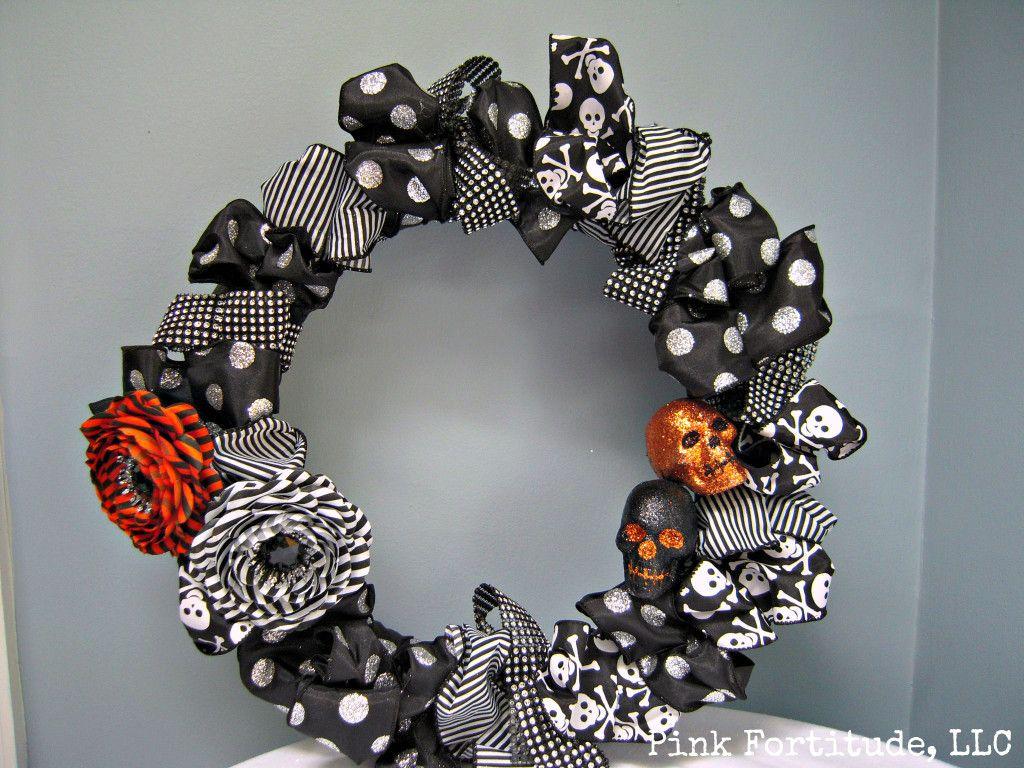 DIY Ribbon 'Cast a Spell' Wreath {INSPIRED}