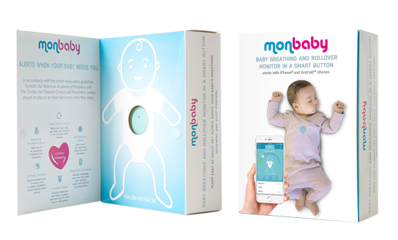MonBaby is the baby monitor in a form of a button and the