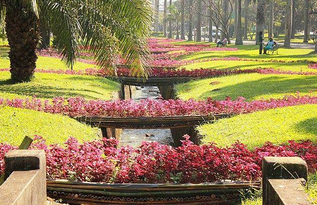 O novo jardim celebra a chegada da primavera (Foto: Divulgação)