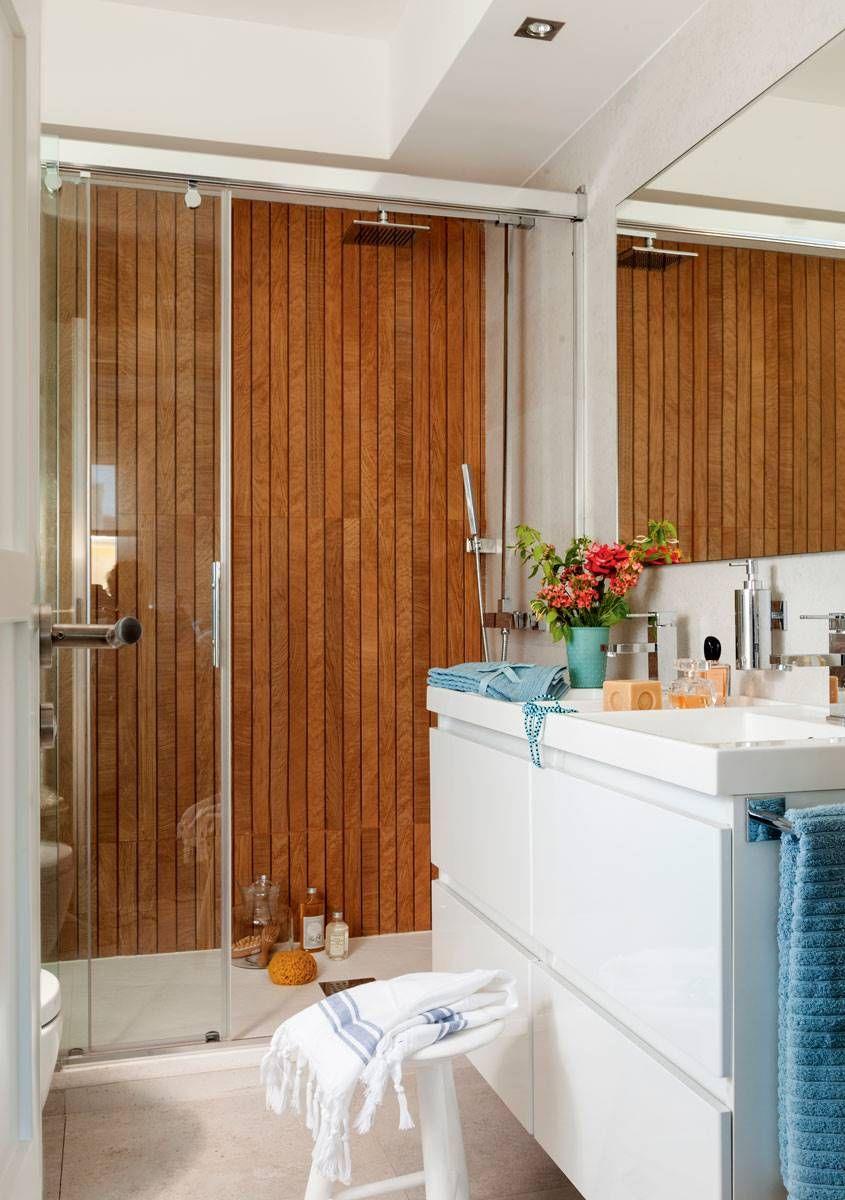 7 baños de menos de 7 m2   Baños pequeños, Diseño de baño ...