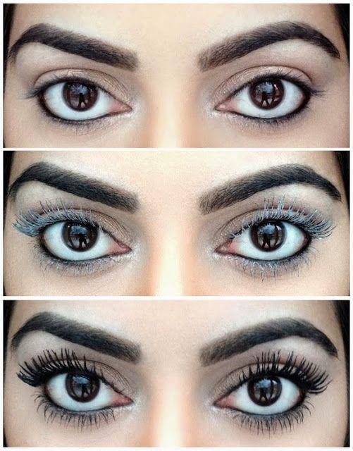 8 Tricks For Longer Eyelashes Beauty Pinterest Makeup Makeup