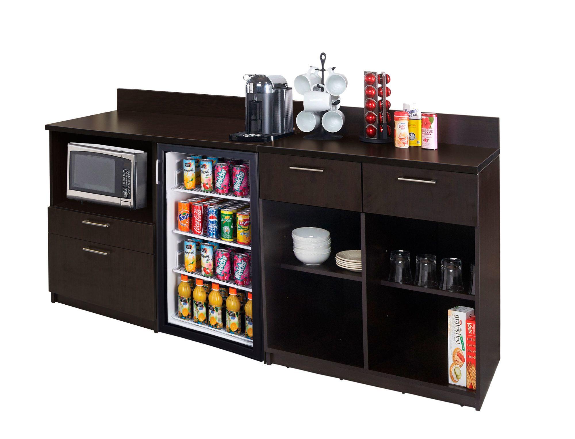 "Coffee Kitchen Lunch Break Room 36"" x 84"" Base Cabinet"