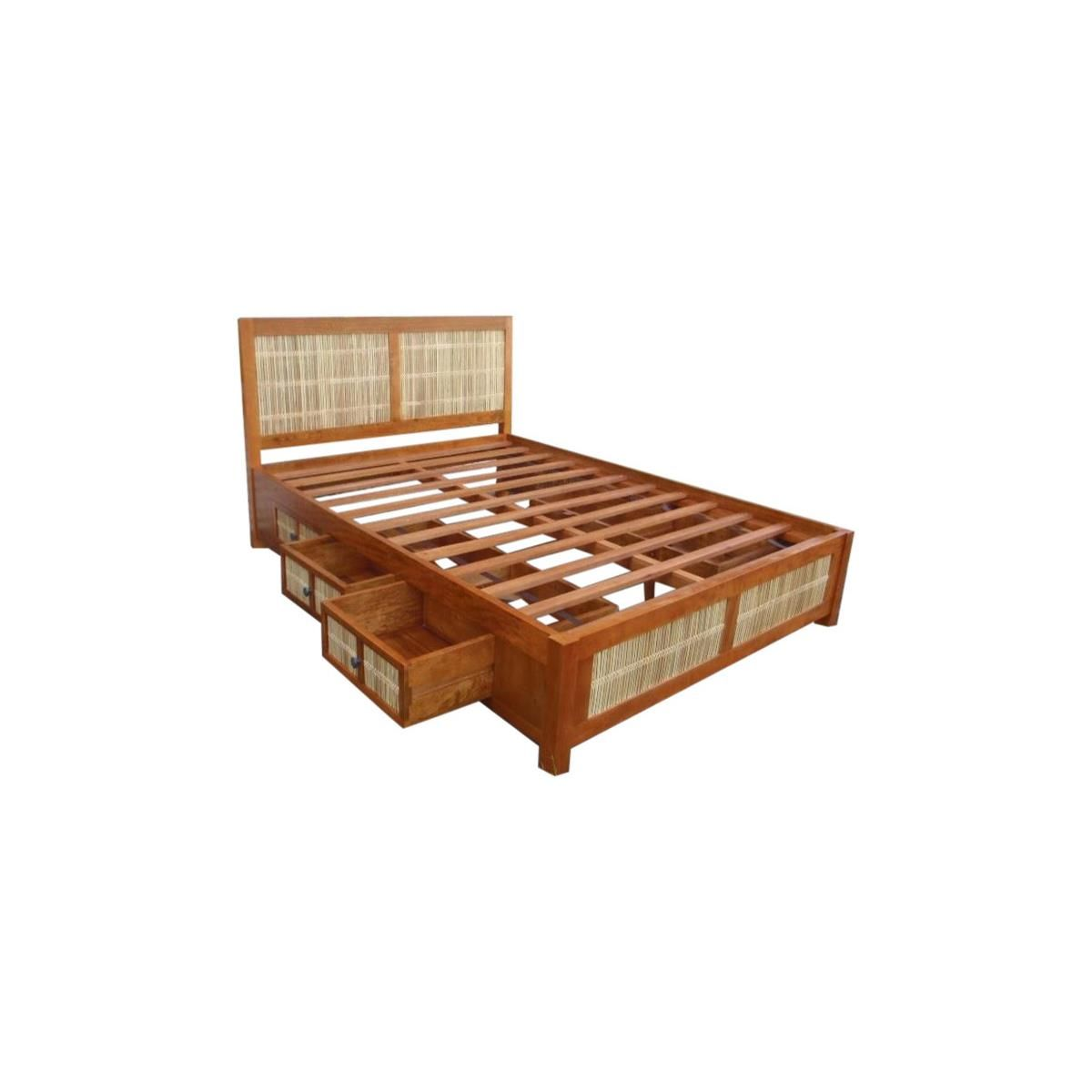 Bedroom Beds Matchstick Collection Beds With Drawers. Bed With DrawersSolid  Wood FurnitureFurniture UpholsteryBambooHawaiiBedsCaptains ...