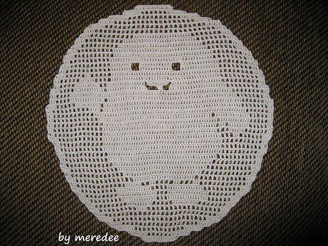 Free Knitting Patterns For Toys And Dolls : Adipose filet crochet by meredee Crochet Pinterest Filet crochet, Croch...