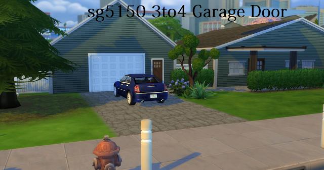 Sims 4 Cc S The Best Garage Door By Sg5150 Sims 4 Custom