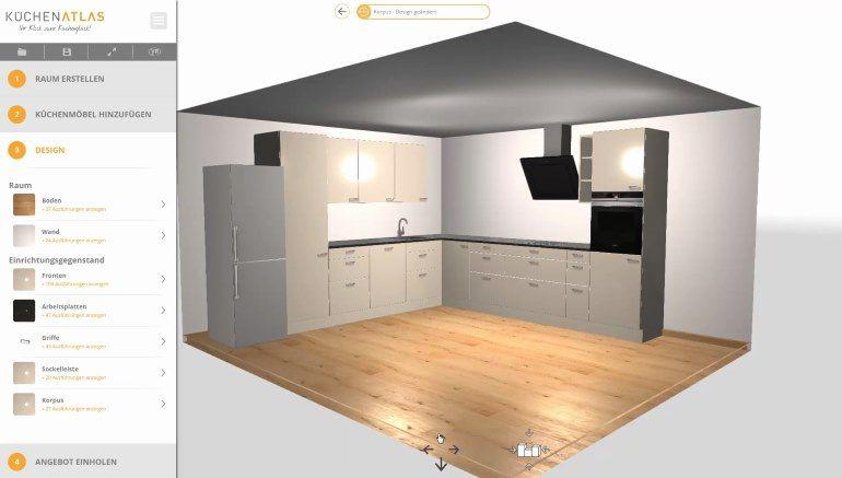 Modern Mansion 3d Floor Plans | Free kitchen design, Ikea ...