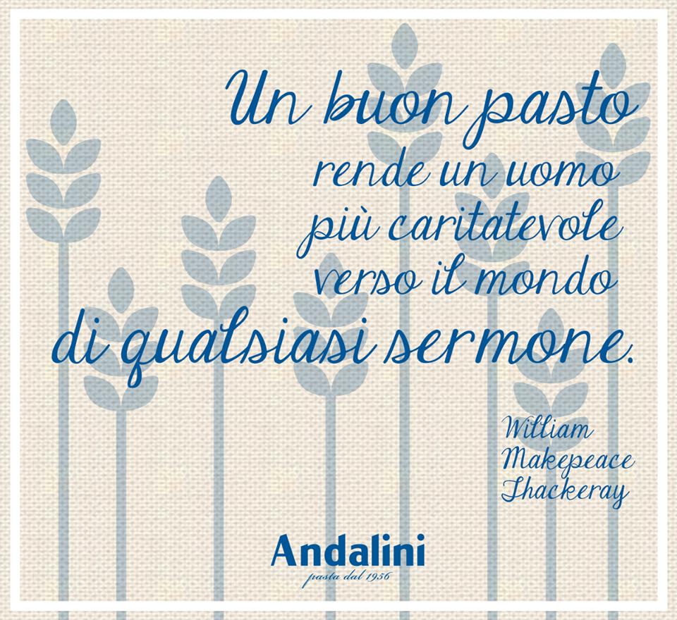 E voi state già rendendo il mondo un posto migliore con un buon piatto di pasta Andalini? 😉🍝  Buona domenica!  www.andalini.it