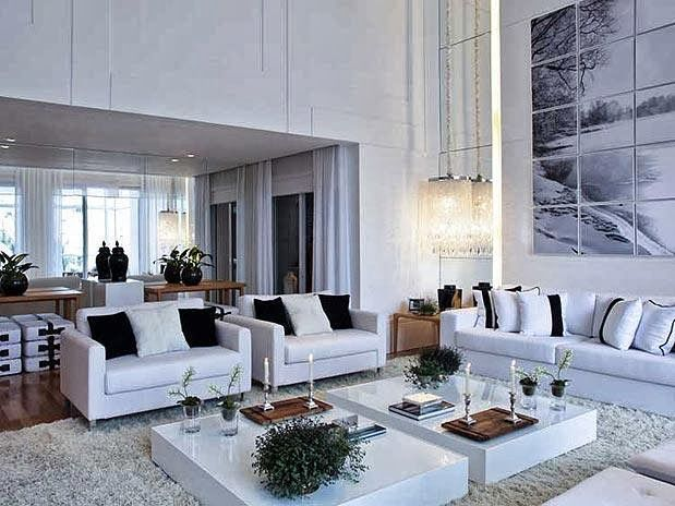 Casa 01 detalhes modelo das poltronas paredes e for Salas modernas de casas