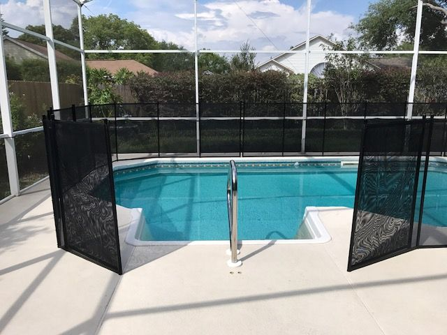 Pool Fence With 6 Opening For Access 407 365 2400 Life Saver