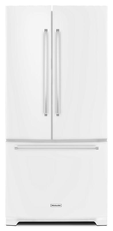Kitchenaid Krff302e Refrigerator White French Door