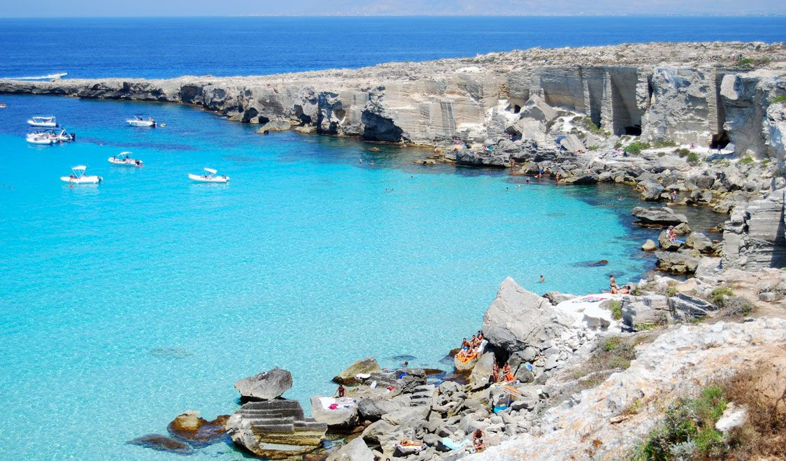 Tig S Picks Cala Rossa Favignana Sicily Best Beaches 2017