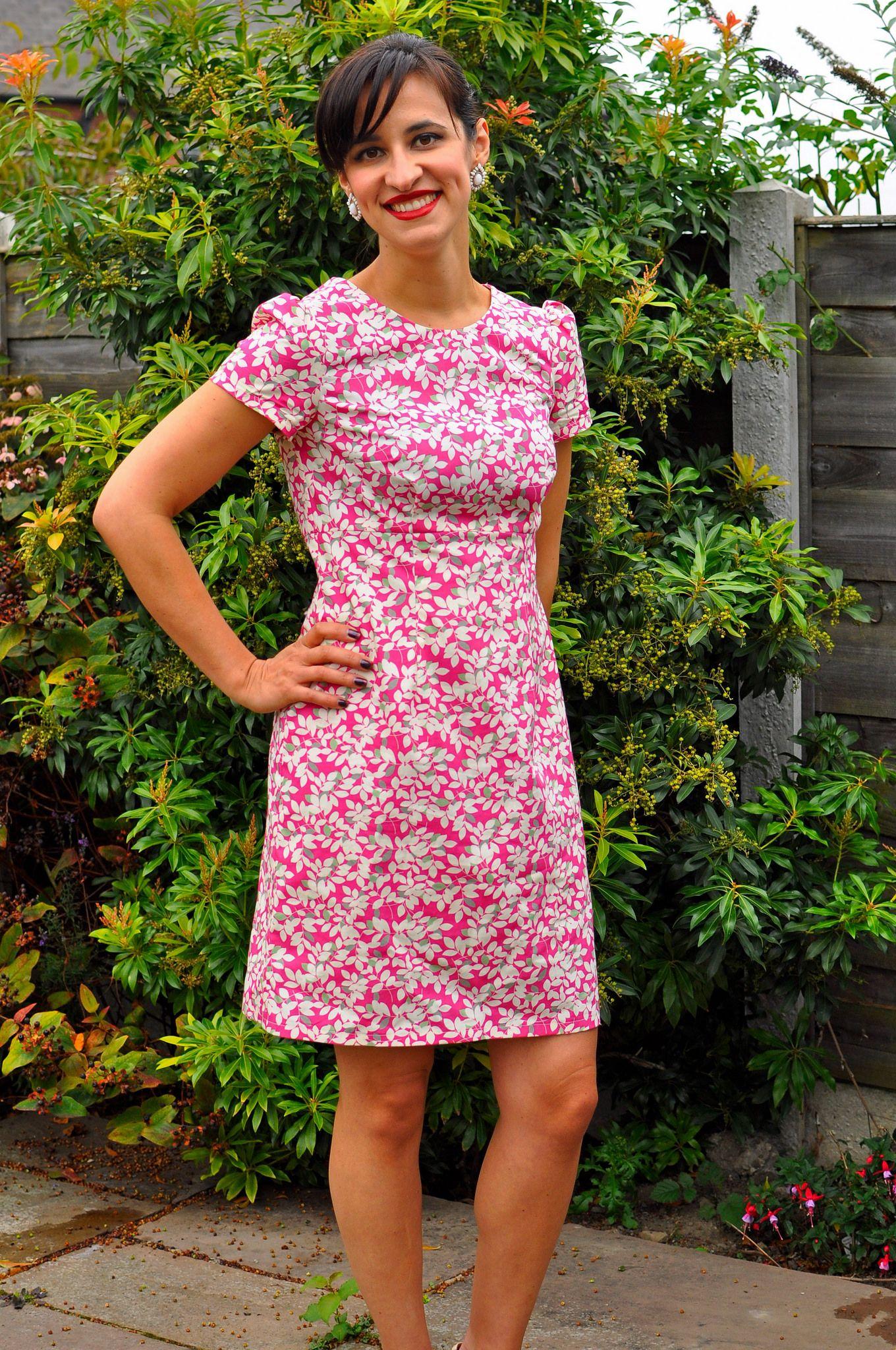 Modern dressmaker buttons - Megan Dress By Tilly And The Buttons