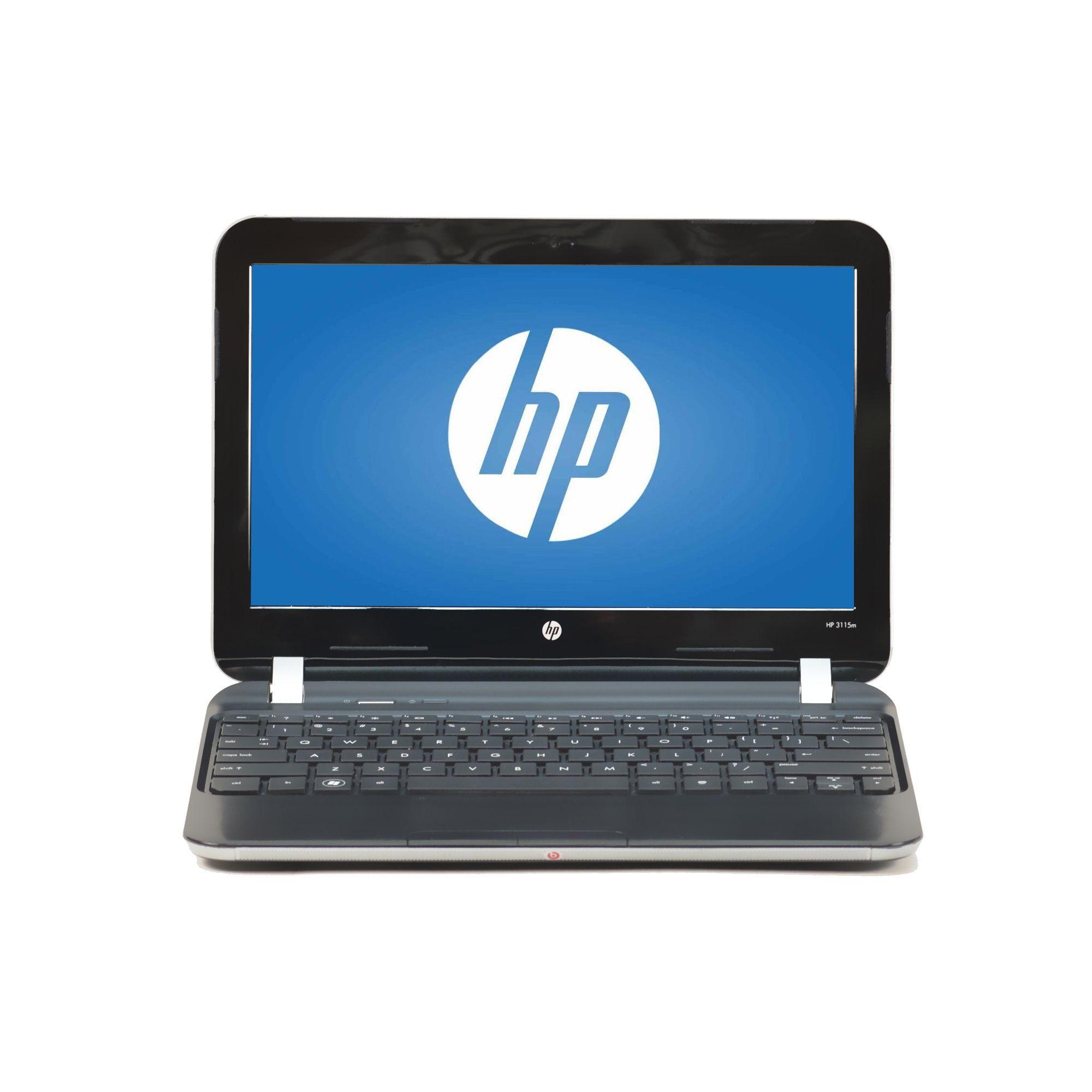 HP 3115M 11.6-inch display 1.65GHz AMD E-450 CPU 4GB RAM 128GB SSD Windows 7 Laptop