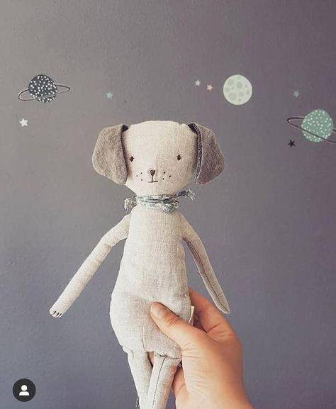 Ce doudou chien est incroyablement doux et approuvé pour les enfants de 0 à 3 ...