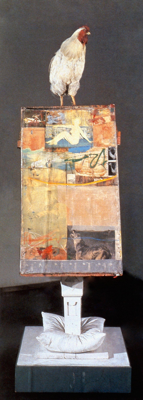 Robert Rauschenberg. Odalisk. 1955 - 58 | Art - Modern ...