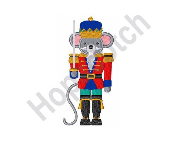 Nutcracker Mouse Soldier - Machine Embroidery Design, Embroidery ...