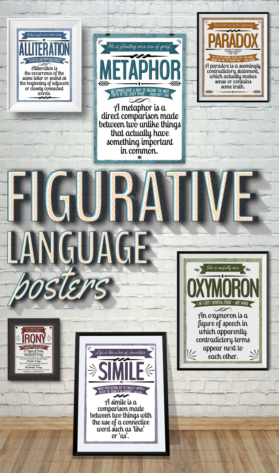 Figurative Language Posters | Classroom POSTERS / QUOTES / ETC ...