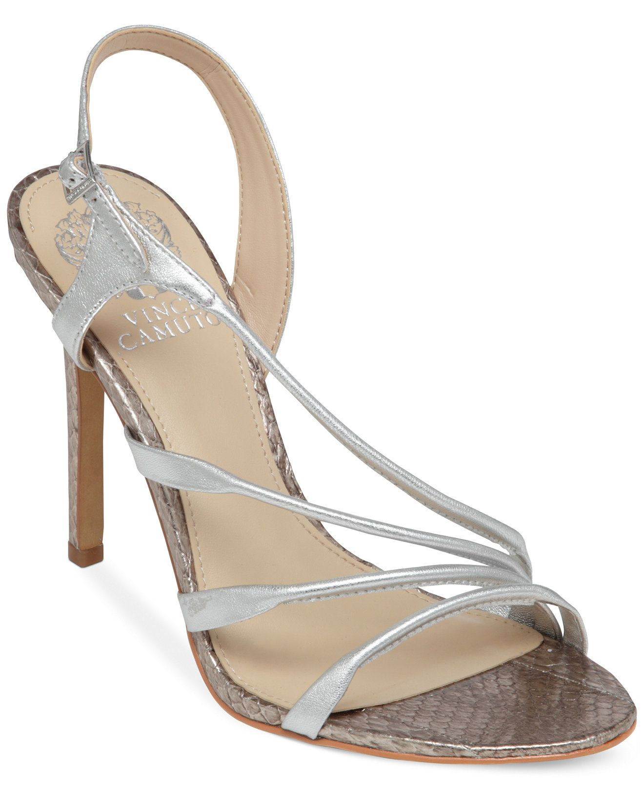 baabb62993f Vince Camuto Tiernan Asymmetrical Evening Sandals - Vince Camuto - Shoes -  Macy s