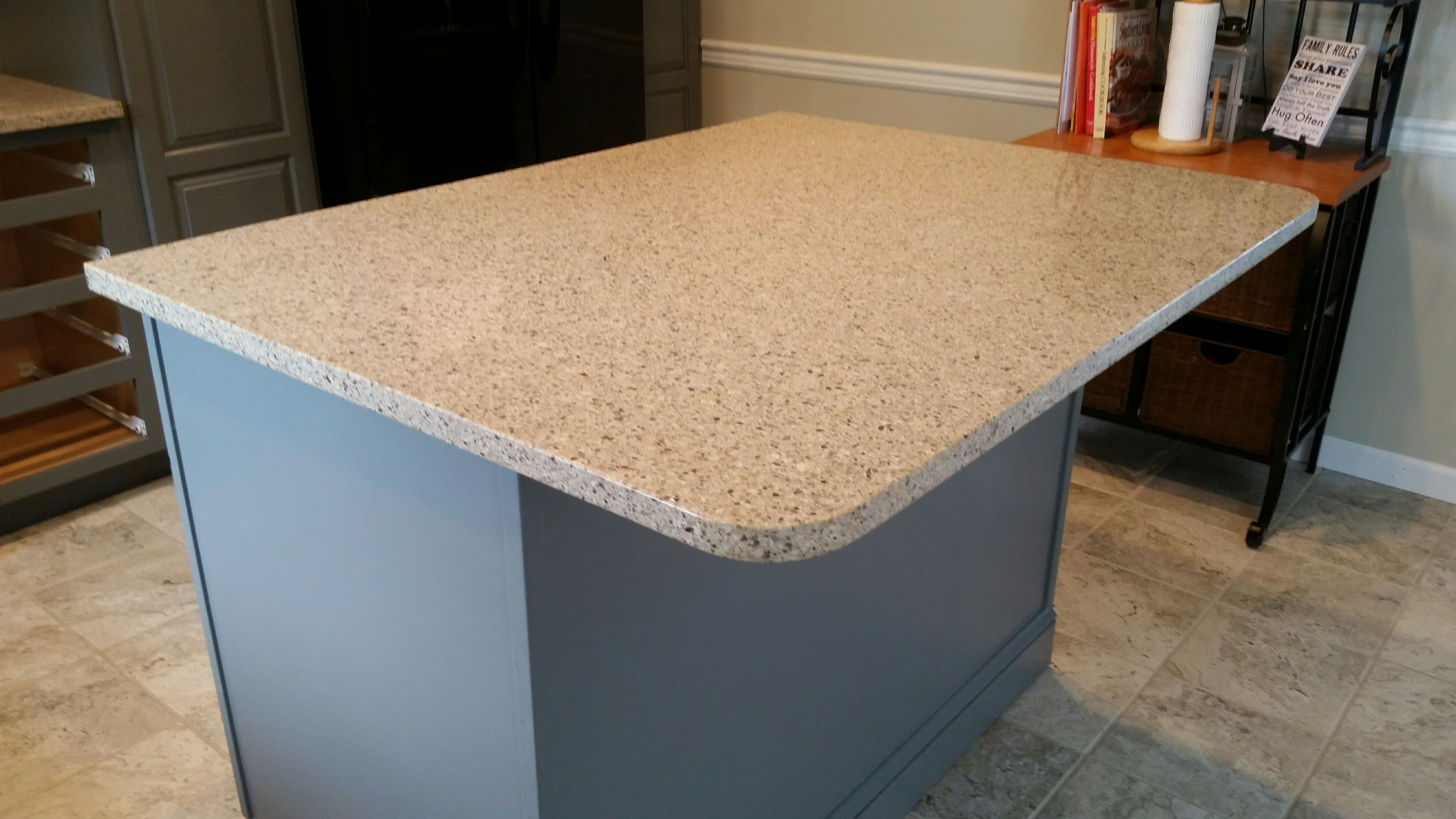 Silver Lake Lg Viatera Quartz Kitchen Countertop Install For The Walker Family Knoxville 39 S