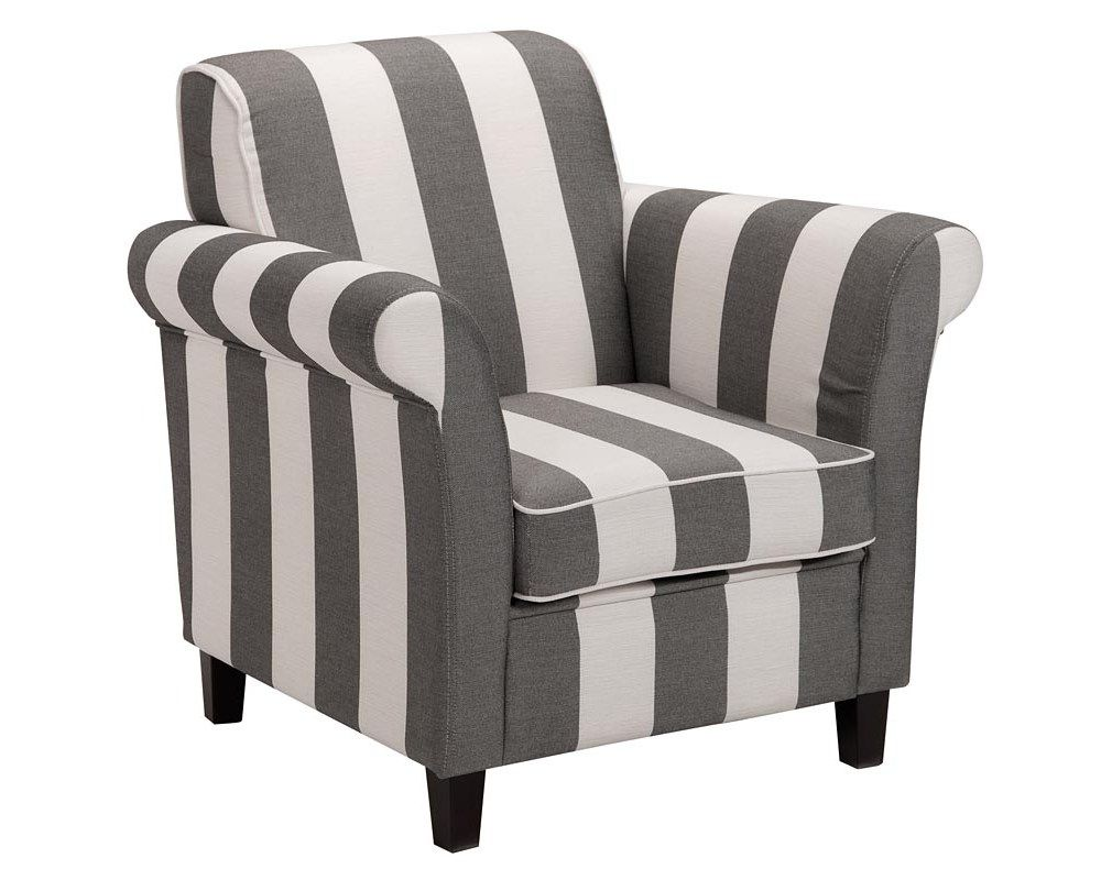 Fauteuil baltimore landelijk romantische stoel in antraciet beige romantische woonkamer - Romantische fauteuil ...