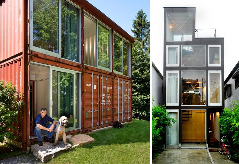 Casas construidas en contenedores met licos house en for Diseno de oficinas con contenedores