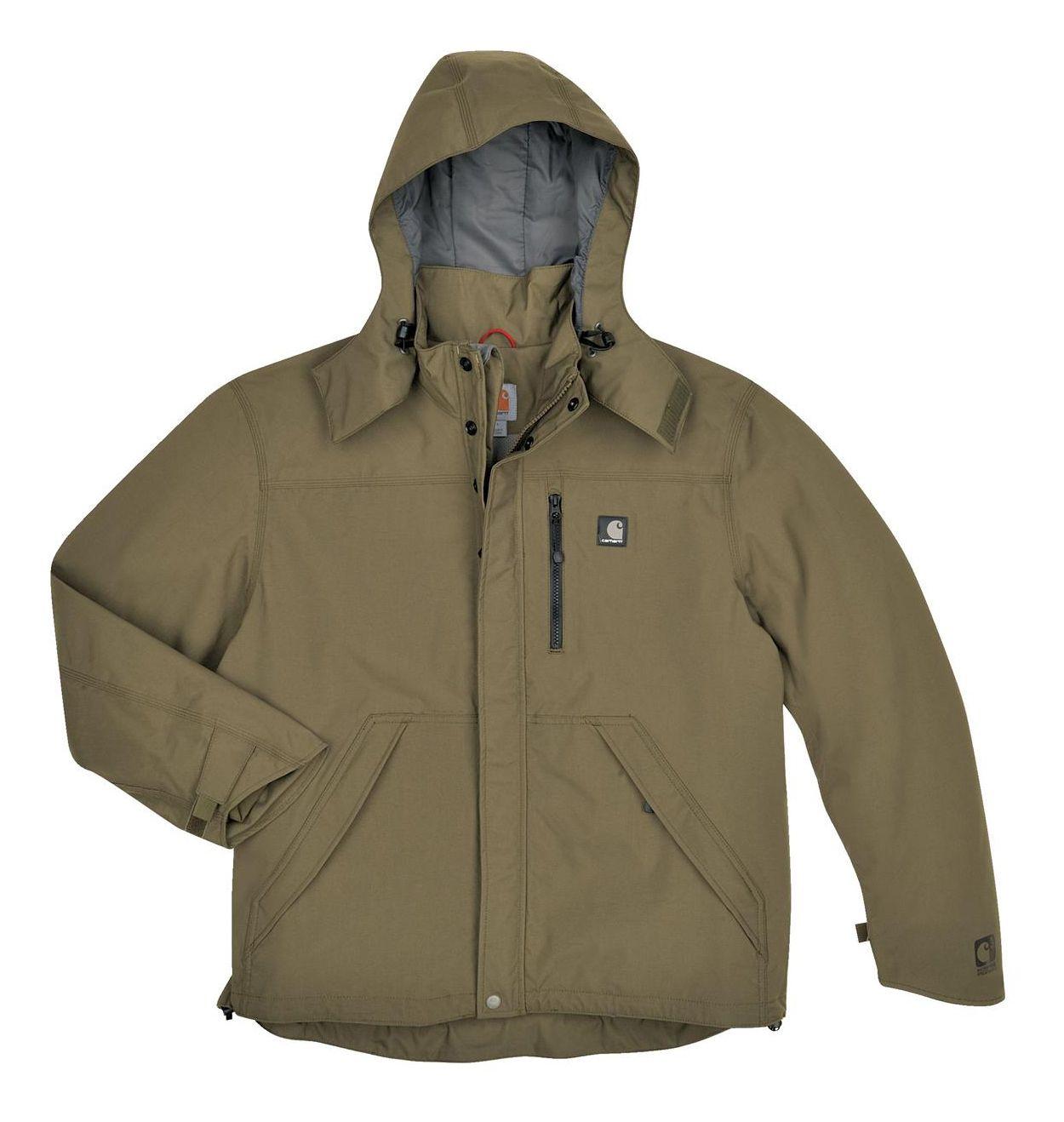 b47638763 Carhartt Shoreline Jacket   Apparel   Green rain jacket, Rain jacket ...
