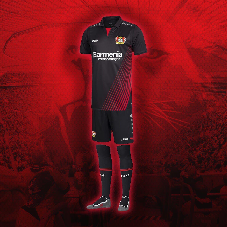 Bayer Leverkusen 2017 2018 Home Kit  261e221cb